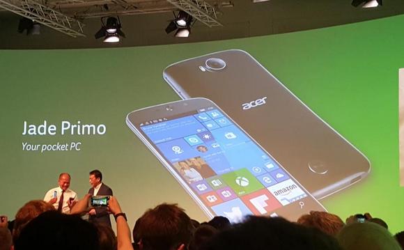 Acer Jade Primo: Telefoni i parë kompjuter me platformën Windows 10 Mobile