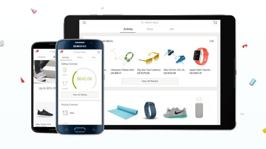 eBay vjen me një aplikacion të ridizenjuar në platformën iOS dhe Android