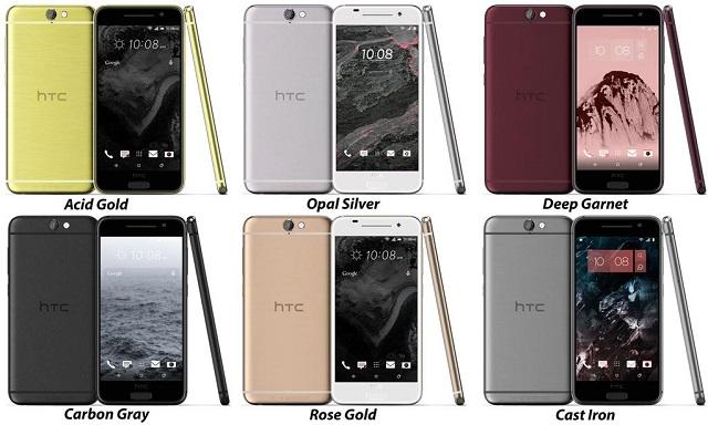 @evleaks zbulon smartfonin HTC One A9 në gjashtë ngjyra