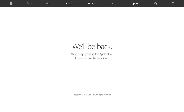 Bllokohet uebfaqja Apple Store pak orë para evenimentit të Apple