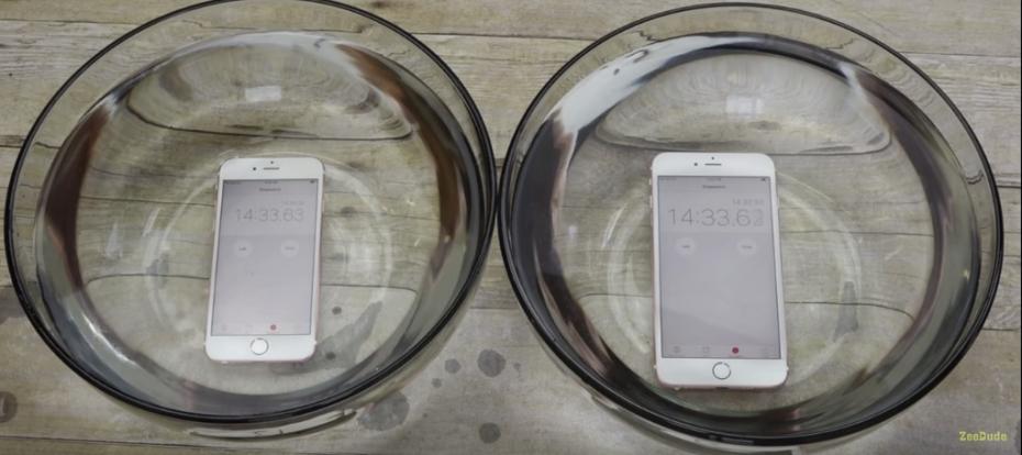 A janë iPhone 6S dhe 6S Plus rezistent ndaj ujit? Dy testime thonë: Po