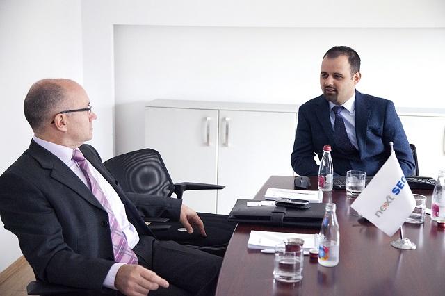 NextSEO priti në zyrat qëndrore në Prishtinë CEO-n e Allianz Global Assistance. U vlerësuan mundësi të reja bashkëpunimi