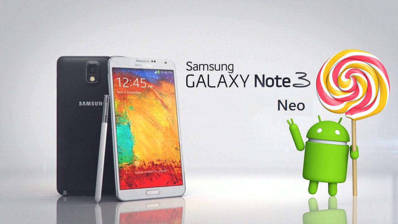 Samsung dërgoi Android Lollipop 5.1.1 në Galaxy Note 3 Neo