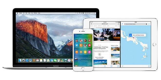 Apple publikoi betat e treta të iOS 9.2 dhe OS X 10.11.2 për zhvilluesit