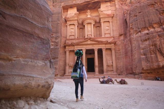 Google sjell pamjet Street View të qytetit antik prej guri Petra