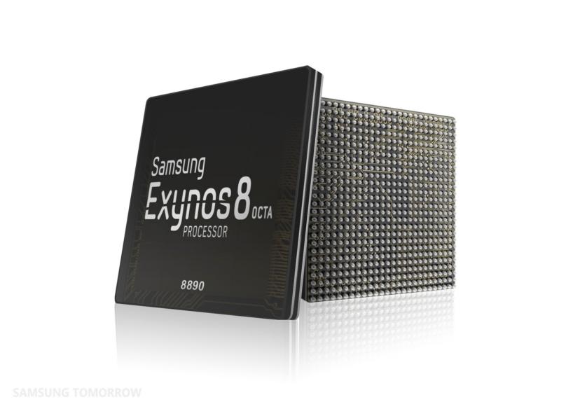 Samsung zbuloi proçesorin me bërthama të përshtatura Exynos 8 Octa 8890