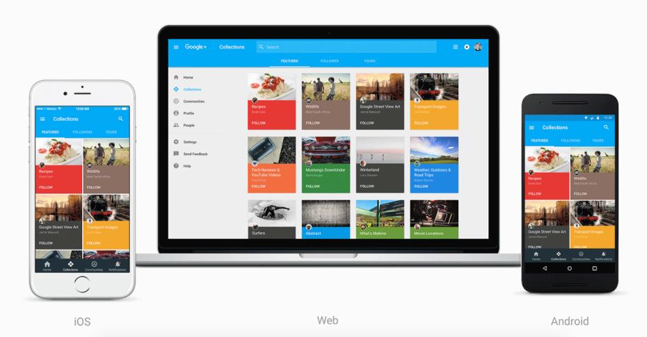 Google ridizenjoi rrjetin social Google+ me fokus të veçantë tek komunitetet dhe koleksionet