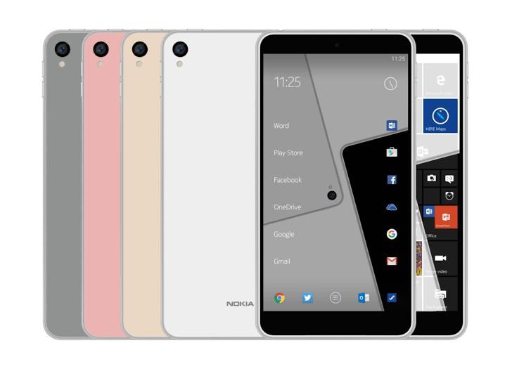 Telefoni inteligjent Nokia C1 shfaqet me sistem operativ Android dhe Windows 10