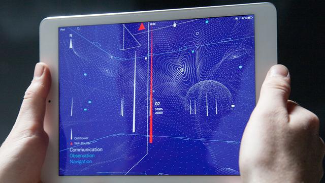 Architecture of Radio, aplikacioni i cili krijon pamje vizuale të valëve celulare që ju rrethojnë