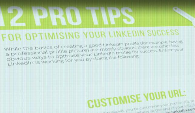 12 këshilla drejt ndërtimit të një profili të suksesshëm në Linkedin (Infografik)