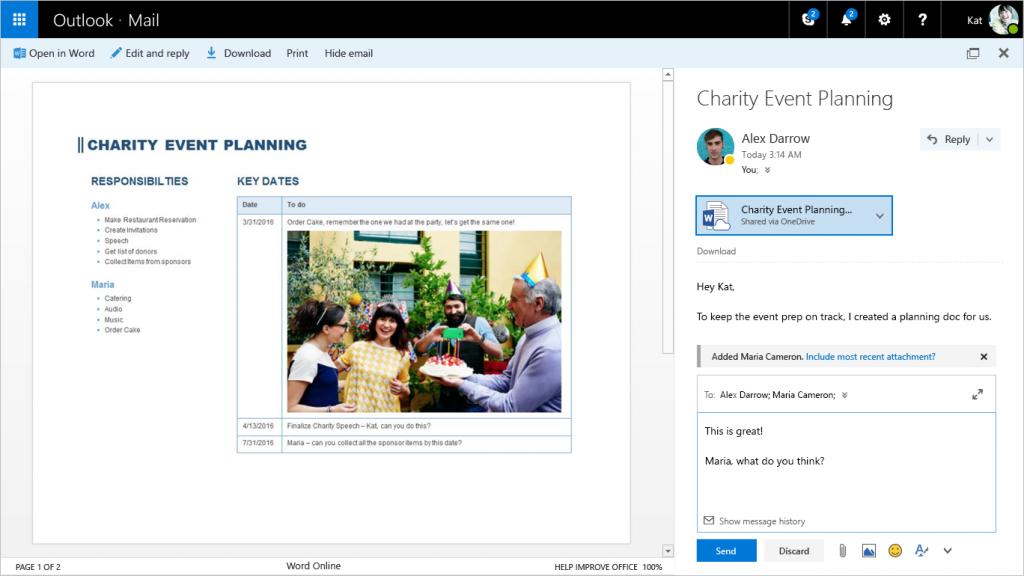 Microsoft lançon për të gjithë përdoruesit postën e re elektronike Outlook
