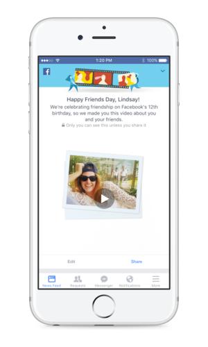 Facebook zyrtarizon Ditën e Miqësisë në përkujtim të 12 vjetorit të themelimit