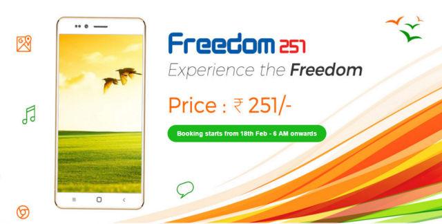 Freedom 251 është telefoni inteligjent Android më i lirë prodhuar ndonjëherë