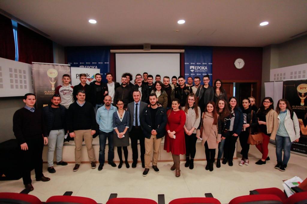 Datat 15-16 Mars e dërgojnë në 12 numrin e takimeve të edicionit të katërt të Albanian ICT Awards