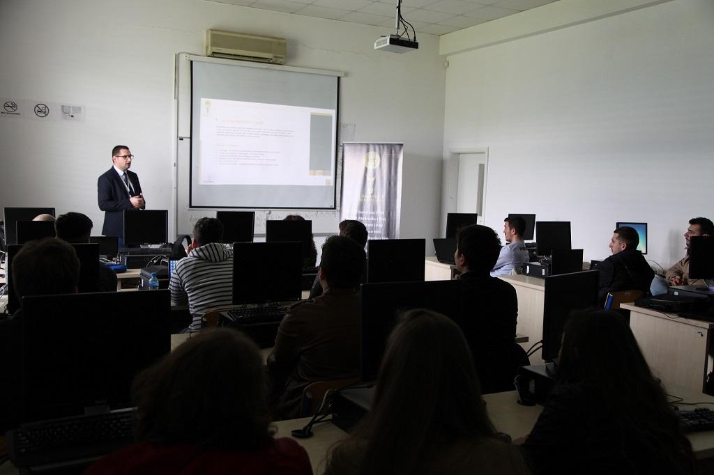 Albanian ICT Awards vizitë pranë Universitetit të Europës Juglindore në Tetovë të Maqedonisë