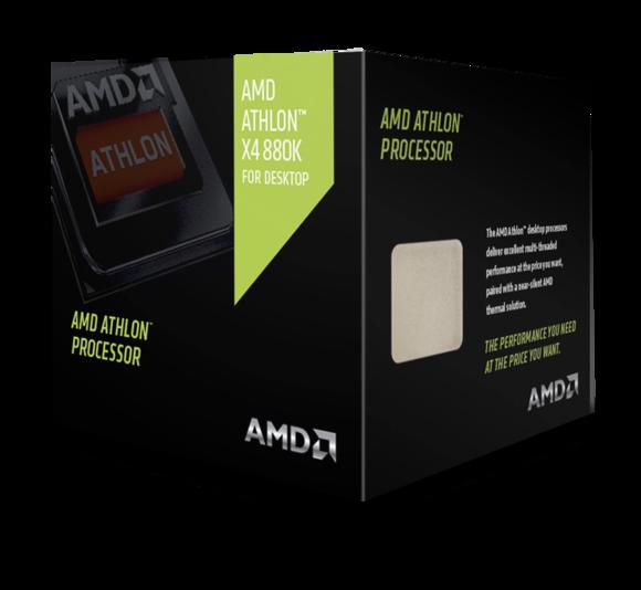 AMD mban të gjallë markën Athlon të proçesorëve me prezantimin e X4 880K