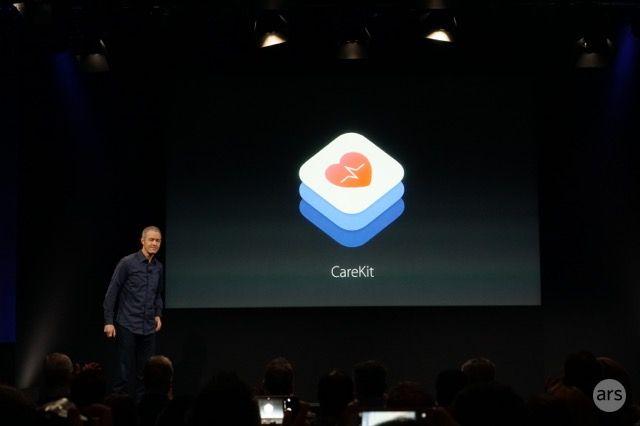 Apple prezantoi CareKit një softuer dedikuar zhvillimit të aplikacioneve të shëndetit