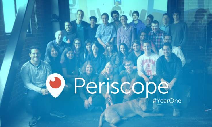 Një vit nga starti, aplikacioni Periscope numëron 200 milion transmetime