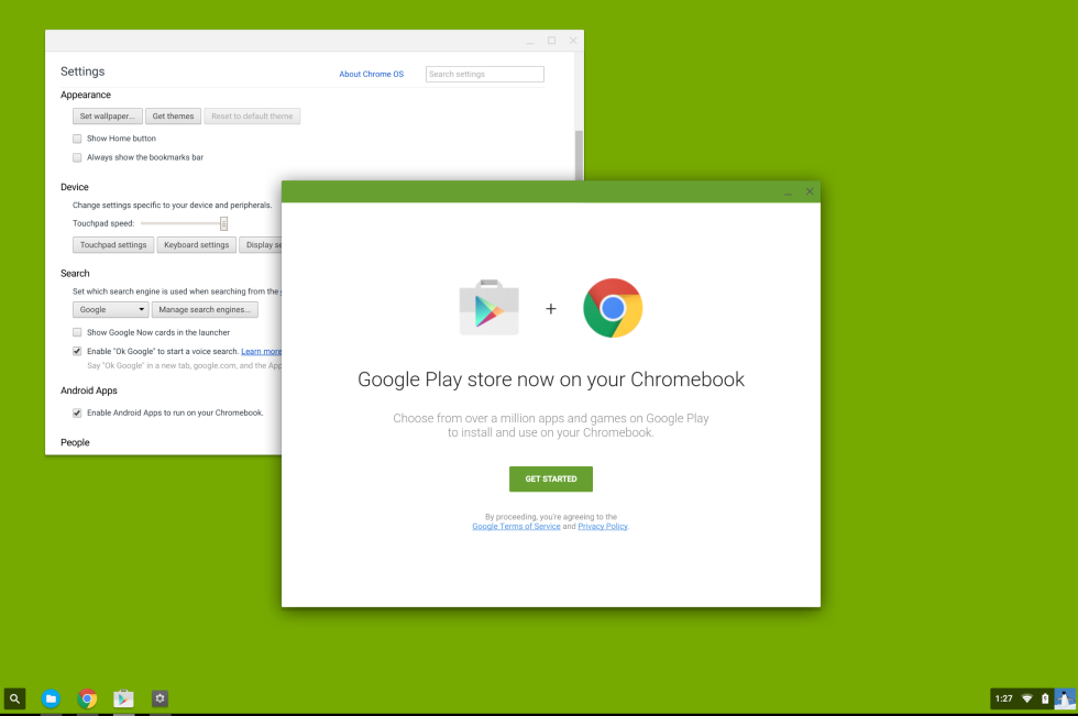 Google Play Store po drejtohet për në Chrome OS me miliona aplikacione Android