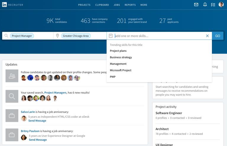 Linkedin publikoi versionin e ri të platformës dhe aplikacionit ambicioz, Recruiter