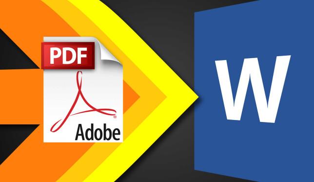 Ja sesi të konvertoni dokumentet PDF në Word terësisht falas