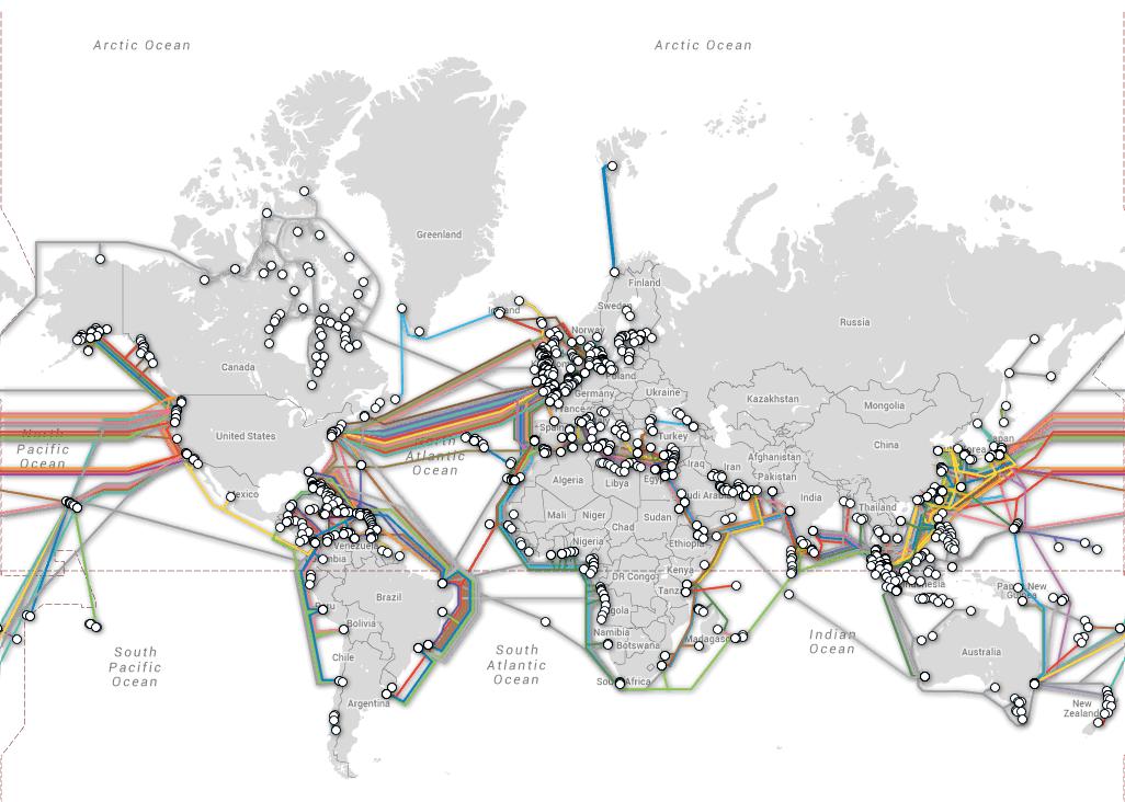 Facebook dhe Microsoft do të ndërtojnë një kabëll optik nënujor për të lidhur SHBA-të me Europën
