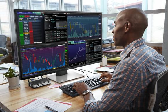 Dell prezantoi multi-monitorin 43 inç 4K i aftë të menaxhojë katër ekrane 1080p
