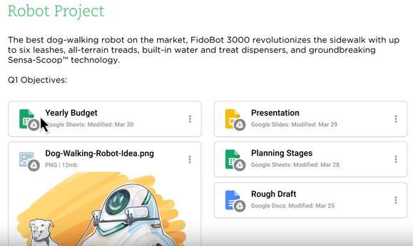 Përmbajtjet e shërbimit cloud Google Drive vinë në shënimet e Evernote