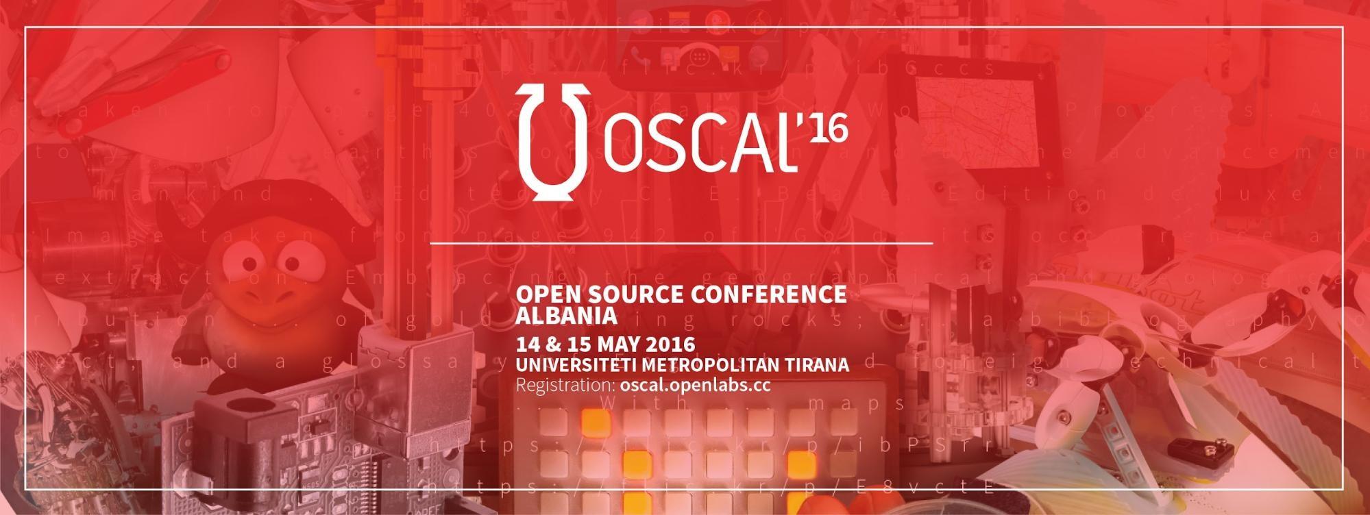 Në 14 & 15 maj 2016 edicioni i tretë i Open Source Conference Albania