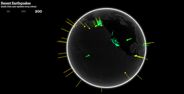real-time-maps-recent-earthquakes