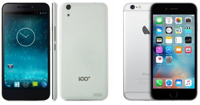 iPhone 6 akuzohet për shkelje të patentave të dizajnit të një telefoni kinez, Baili 100C