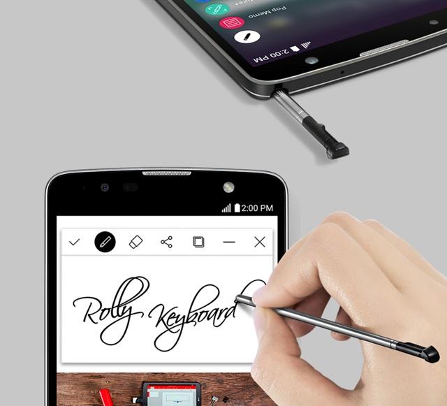 LG sfidon Samsung Galaxy Note me telefonin e ri Stylus 2 Plus