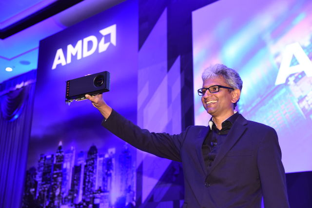 Raja-Koduri-SVP-of-Radeon-Technologies-Group-Shows-Off-The-Worlds-Firs...-640x426