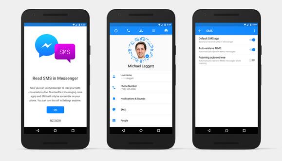 Facebook shton mbështetjen për SMS-të në aplikacionin Messenger në Android