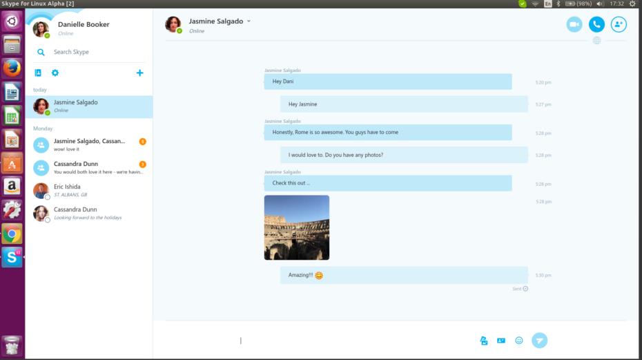 Skype prezantoi versionin WebRTC të Skype në Linux