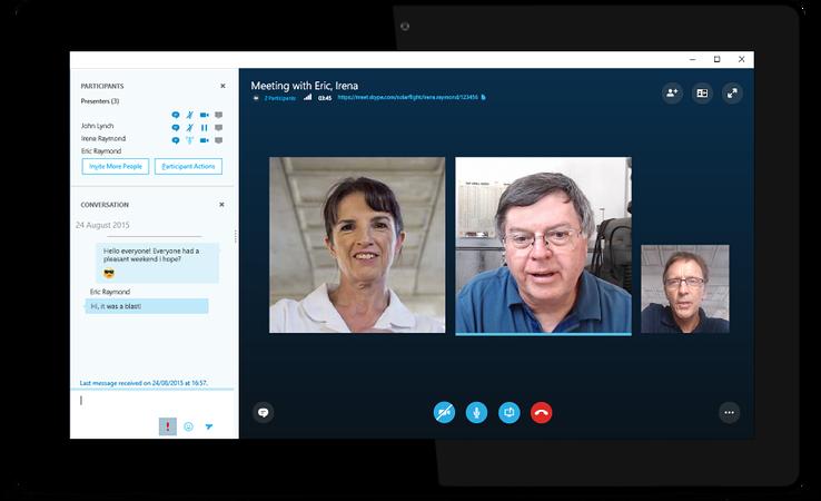 Skype Meetings quhet shërbimi më i ri i Microsoft për bizneset e vogla