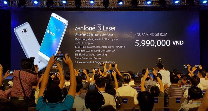 Asus prezantoi dy anëtarët e rinj të familjes Zenfone 3, Laser dhe Max
