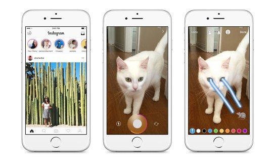 """Facebook kopjon Snapchat përsëri me """"risinë"""" Instagram Stories"""
