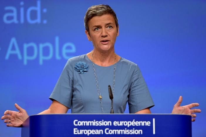Komisioni Europian urdhëron Apple të paguajë 13 miliard Euro përftim nga taksat Irlandeze