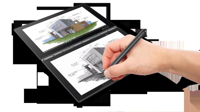 Lenovo Yoga Book është një laptop 360 gradësh pa tastierë fizike