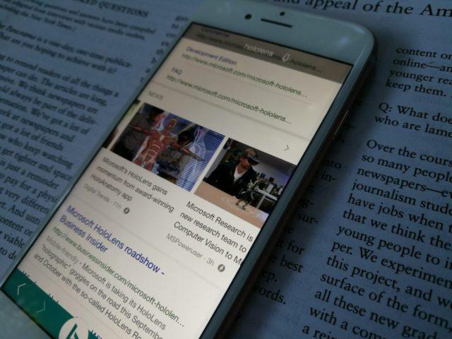 Aplikacioni Bing në Android dhe iOS adoptoi teknologjinë AMP në rezultatet e kërkimit