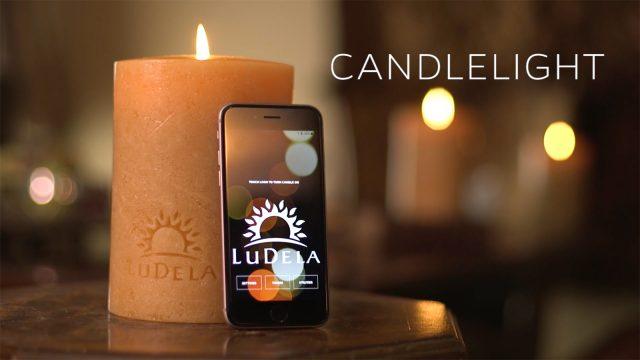 Ludela Candle, qiriu i parë inteligjent i cili ndizet me anë të një aplikacioni