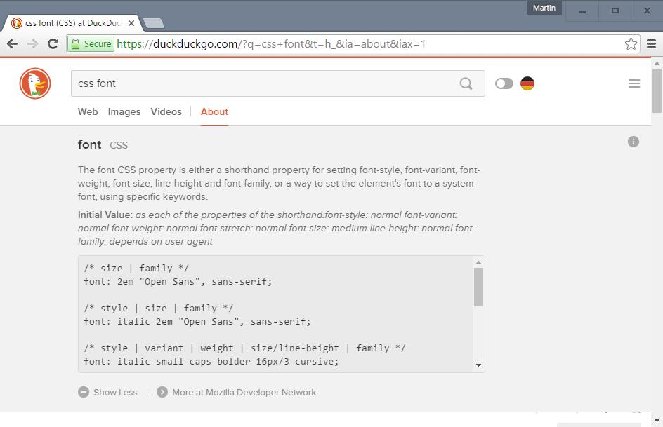 DuckDuckGo kërkon të bëhet motori i kërkimit i programuesve
