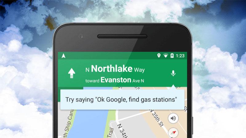 Aplikacioni Google Maps në Android u përgjigjet komandave zanore