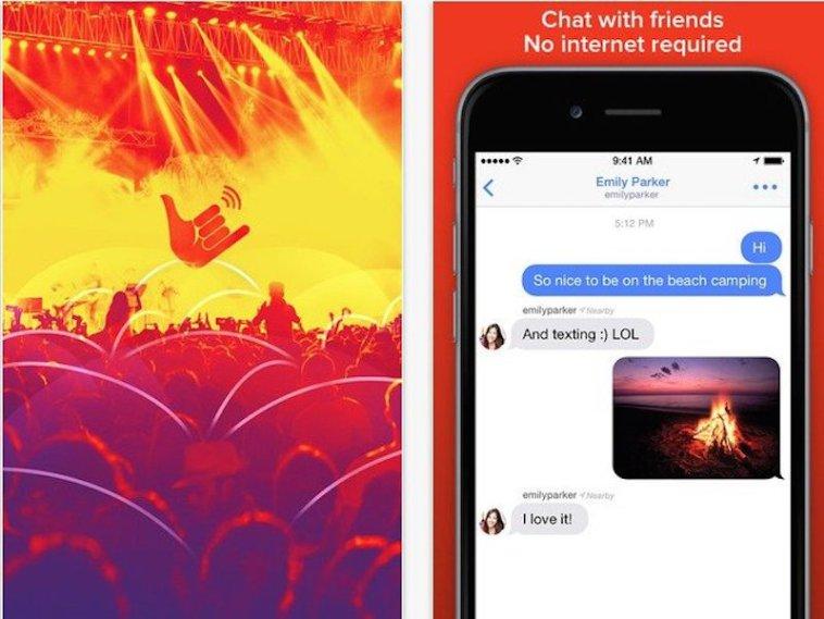 Firechat, aplikacioni i komunikimit që funksionon pa rrjet Wi-Fi dhe Celular