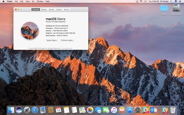 Apple macOS Sierra i disponueshëm për të gjithë përdoruesit
