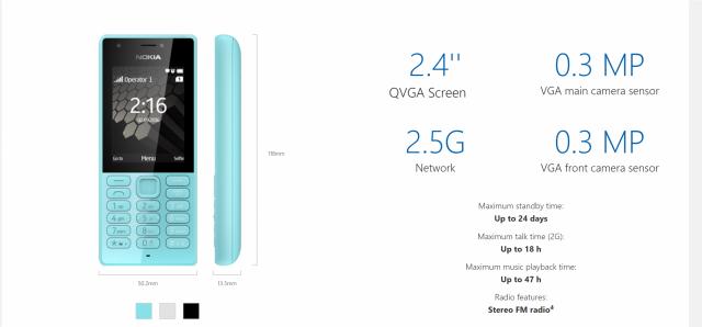 Lumia 216 shënon lamtumirën telefonëve Nokia prodhuar nga Microsoft