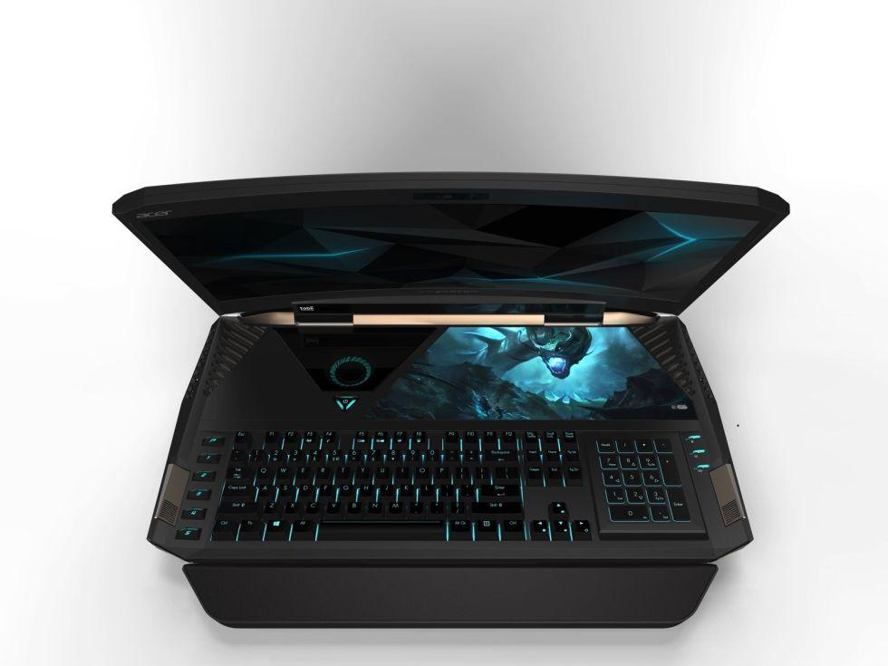 Acer Predator 21X është laptopi i parë në botë me ekran të lakuar
