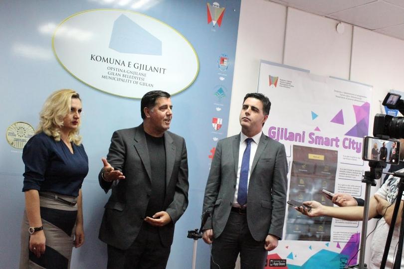 "Gjilani promovon iniciativën ""Smart City"""