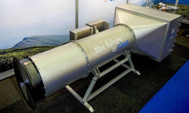 Holandezët shpikin një pastrues gjigand të ajrit të jashtëm